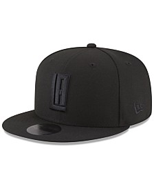 New Era Los Angeles Clippers Alpha Triple Black 59FIFTY FITTED Cap