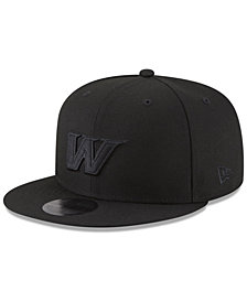 New Era Washington Wizards Alpha Triple Black 59FIFTY FITTED Cap