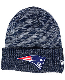 New Era Boys' New England Patriots Touchdown Knit Hat