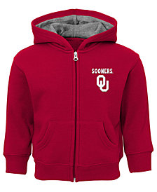 Outerstuff Oklahoma Sooners Red Zone Full-Zip Hooded Sweatshirt, Infants (12-24 Months)