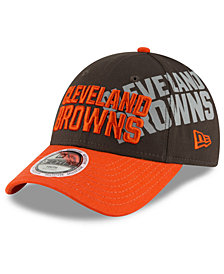 New Era Boys' Cleveland Browns Side Flect 9FORTY Cap