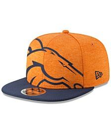 New Era Denver Broncos Oversized Laser Cut 9FIFTY Snapback Cap