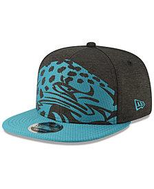 New Era Jacksonville Jaguars Oversized Laser Cut 9FIFTY Snapback Cap