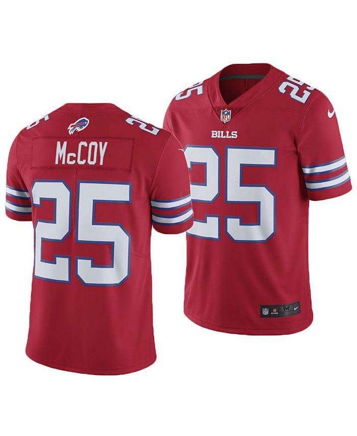 Nike Men's LeSean McCoy Buffalo Bills Limited Color Rush Jersey ...