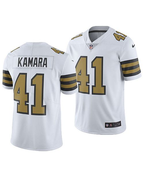 db55a0d778b ... Nike Men's Alvin Kamara New Orleans Saints Limited Color Rush Jersey ...