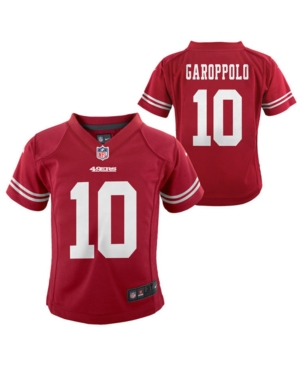 Nike Jimmy Garoppolo San Francisco 49ers Game Jersey, Little Boys (4-7)