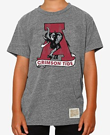 Retro Brand Alabama Crimson Tide Tri-Blend T-Shirt, Big Boys (8-20)