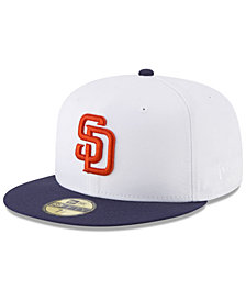 New Era San Diego Padres Batting Practice Wool Flip 59FIFTY FITTED Cap