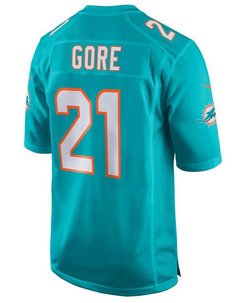 check out a160d 13706 Nike Men's Frank Gore Miami Dolphins Game Jersey & Reviews ...