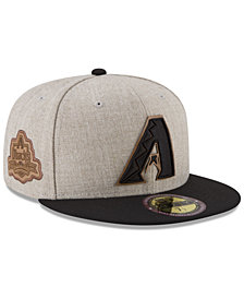 New Era Arizona Diamondbacks Leather Ultimate Patch Collection 59FIFTY FITTED Cap