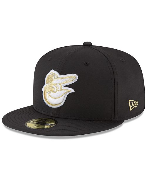 New Era Baltimore Orioles Prolite Gold Out 59FIFTY FITTED Cap