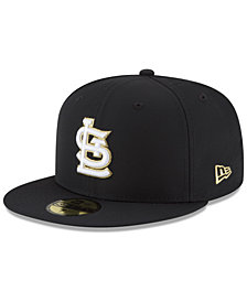 New Era St. Louis Cardinals Prolite Gold Out 59FIFTY FITTED Cap