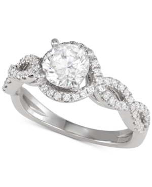 Engagement Ring (1-1/8 ct. t.w.) in 14k White Gold