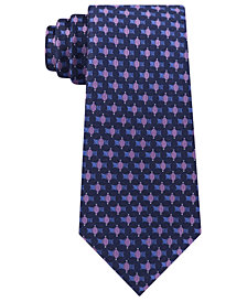 Kenneth Cole Reaction Men's Connected Oval Slim Tie