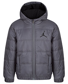 Jordan Big Boys Heritage Puffer Jacket