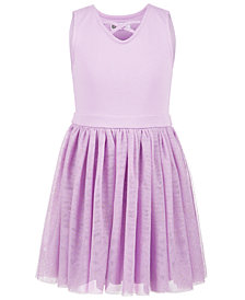 Epic Threads Little Girls Glitter-Mesh Tutu Dress, Created for Macy's