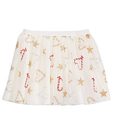 Epic Threads Little Girls Reversible Skirt, Created for Macy's