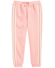 Epic Threads Toddler Girls Sparkle-Stripe Jogger Pants, Created for Macy's