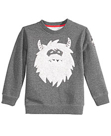 Epic Threads Little Boys Monster Crew Sweatshirt, Created for Macy's