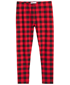 Epic Threads Little Girls Plaid Leggings, Created for Macy's