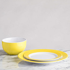 Q Squared Bistro Yellow Melamine Collection
