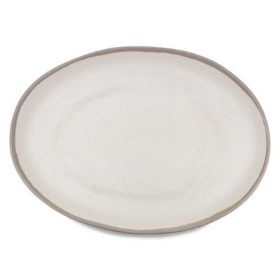 Potter Stone Melamine Oval Platter