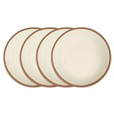 Potter Terracotta Melaboo 4-Pc. Dinner Plate Set