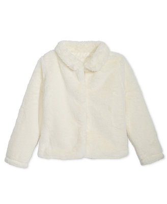 Little Girls Faux Fur Jacket, Created For Macy's by Epic Threads