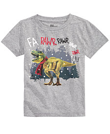 Epic Threads Little Boys Dino Rawr T-Shirt, Created for Macy's