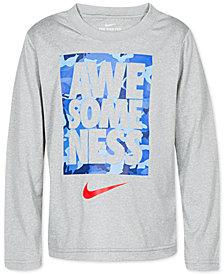 Nike Little Boys Dri-FIT Awesomeness Graphic T-Shirt