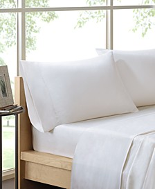 600 Thread Count 4-PC Queen Pima Cotton Sheet Set