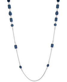 "Nine West Crystal 42"" Strand Necklace"