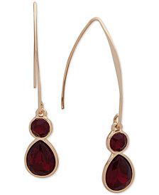 Nine West Crystal Threader Earrings