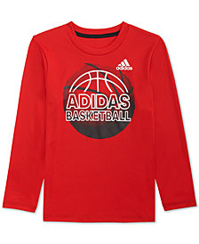 adidas Little Boys Climalite® Graphic-Print Shirt