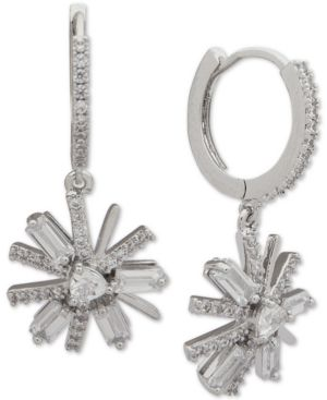 JENNY PACKHAM Mini Pave Crystal Drop Earrings in Silver