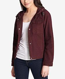 Levi's® Cotton Hooded Cargo Jacket