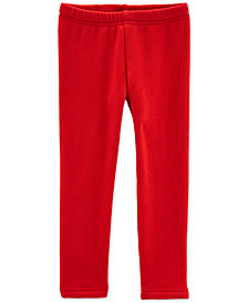 Carter's Baby Girls Red Leggings