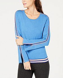 Alfani Varsity Stripe Sweater, Created for Macy's