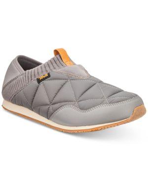 TEVA Men'S Ember Moc Slippers Men'S Shoes in Charcoal Grey