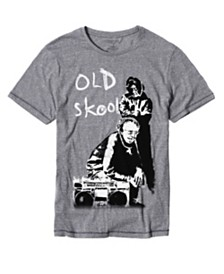 Men's  Banksy's Old Skool T-Shirt