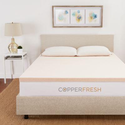 Copperfresh Copperfresh 3 Gel Memory Foam Mattress Topper