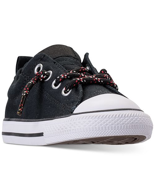 246198a0ae31 ... Converse Toddler Boys  Chuck Taylor Street Ox Casual Sneakers from Finish  Line ...