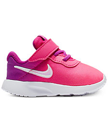 Nike Toddler Girls' Tanjun Print Casual Sneakers from Finish Line