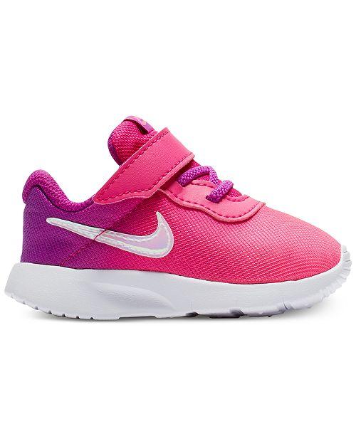 c2703ec2d528 Nike Toddler Girls  Tanjun Print Casual Sneakers from Finish Line ...