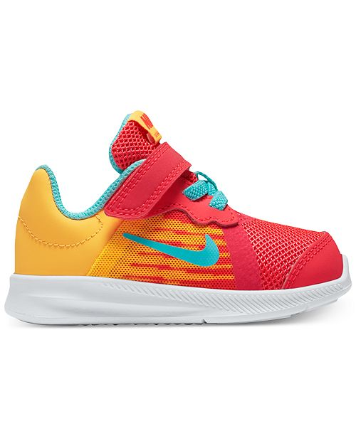 1eb8f3a7c85a ... Nike Toddler Girls  Downshifter 8 Fade Running Sneakers from Finish ...