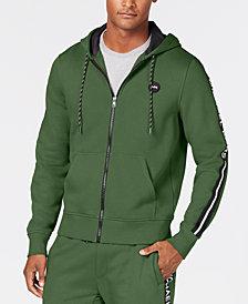Michael Kors Men's Logo Fleece Full-Zip Hoodie