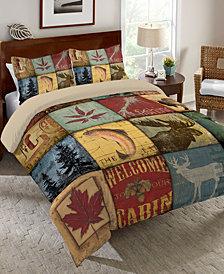Laural Home Lodge Patch  Queen Comforter