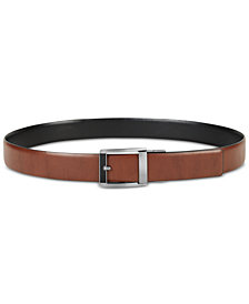 Alfani Men's Reversible Custom-Fit Belt, Created for Macy's