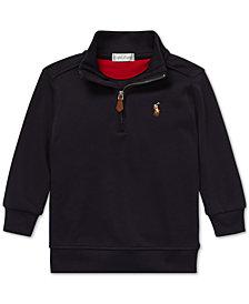 Polo Ralph Lauren Baby Boys Half-Zip Supima® Cotton Pullover
