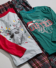 Max & Olivia Big Boys Holiday Pajamas